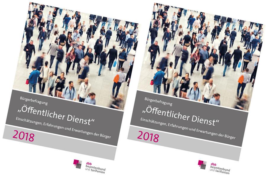 Komba Bremen Dbb Bürgerbefragung öffentlicher Dienst 2018